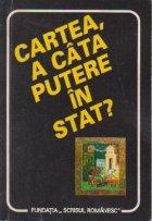 Cartea, a cata putere in stat?