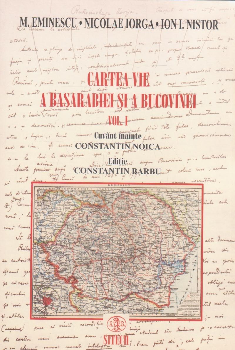 Cartea vie a Basarabiei si a Bucovinei, Volumul I