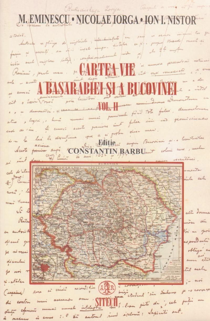 Cartea vie a Basarabiei si a Bucovinei, Volumul al II-lea