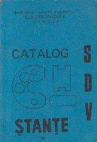 Catalog de proiecte S.D.V. - Stante