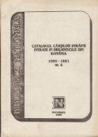 Catalogul cartilor straine intrate in bibliotecile din Romania. Nr. 4 (1990-1991)