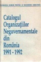 Catalogul Organizatiilor Neguvernamentale din Romania