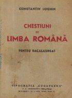 Chestiuni de limba romana pentru bacalaureat (Genurile literare, influentele straine, curentele literare s.a.)