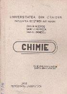 Chimie - Caiet de lucrari practice pentru uzul studentilor