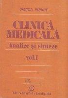 Clinica medicala - Analize si sinteze, Volumul I