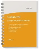 Codul civil si Legea de punere in aplicare. Actualizat la 8 ianuarie 2021, spiralat, corespondenta cu reglementarile anterioare, decizii ale Curtii Constitutionale, recursuri in interesul legii, hotarari prealabile, legislatie conexa si index alfabetic