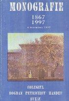 Colegiul Bogdan Petriceicu Hasdeu Buzau - Monografie 1867-1997