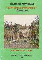 Colegiul National Spiru Haret Targu-Jiu. Anuar 1998-1999