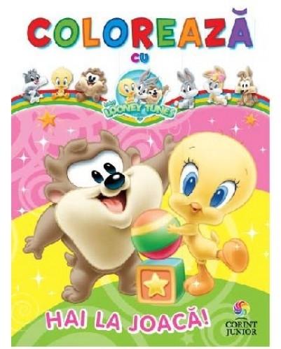 Colorează cu Baby Looney Tunes. Hai la joaca!