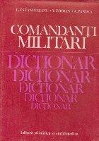 Comandanti militari - Dictionar