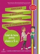Competenta creativitate practica limbii literaturii