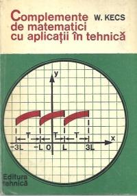 Complemente de matematici cu aplicatii in tehnica