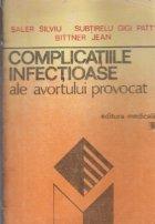 Complicatiile infectioase ale avortului provocat