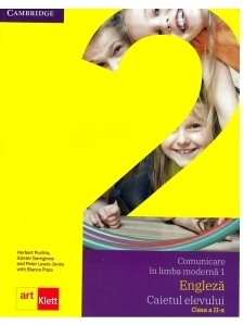 Comunicare in limba moderna 1. Engleza, Caietul elevului clasa a II-a