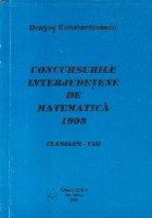 Concursurile interjudetene de matematica 1993, Clasele V-VIII