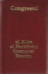 Congresul al X-lea al Partidului Comunist Roman (6-12 august 1969)