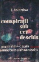 Conspiratii sub cer deschis Pagini