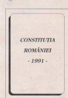 Constitutia Romaniei -1991-