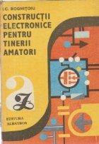 Constructii electronice pentru tinerii amatori