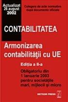Contabilitatea Armonizarea contabilitatii (editia revazuta