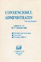 Contenciosul administrativ Legea din noiembrie