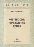 Contenciosul administrativ roman