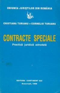 Contracte speciale. Practica juridica adnotata
