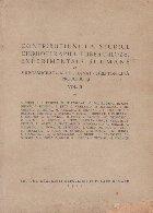 Contributiuni la studiul chimioterapieii tuberculozei experimentale si umane, Volumul al II-lea