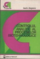 Controlul analitic procesoarelor biotehnologice