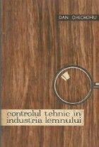 Controlul tehnic in industria lemnului
