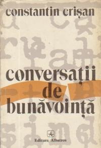 Conversatii de bunavointa - Eseu despre adevaruri uitate