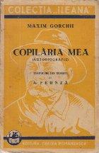 Copilaria mea (Autobiografie)