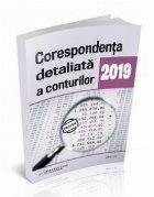 Corespondenta detaliata conturilor 2019