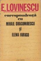 Corespondenta Mihail Dragomirescu Elena Farago