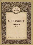 G. Cosbuc - Poezii, Volumul al II-lea (Editie 1958)