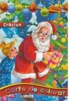Craciun - Carte de colorat (format A4)