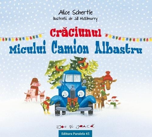 CRĂCIUNUL MICULUI CAMION ALBASTRU