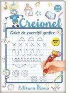 Creionel, caiet de exercitii grafice 5-6 ani