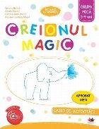 Creionul Magic. Caiet de activitati. Grupa mica 3-4 ani