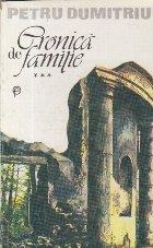 Cronica de familie, Volumul al III-lea