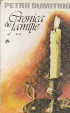 Cronica de familie, Volumul al II-lea