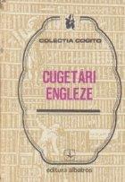 Cugetari engleze (romana-engleza)
