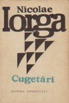 Cugetari (Nicolae Iorga)