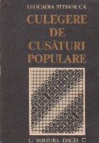 Culegere de cusaturi populare (Leocadia Stefanuca)