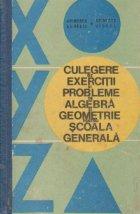Culegere de exercitii si probleme de algebra si geometrie pentru scoala generala