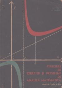 Culegere de exercitii si probleme de analiza matematica pentru clasa a XI-a