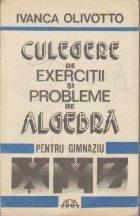 Culegere de exercitii si probleme de algebra pentru clasele V-VIII