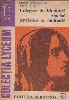 Culegere literatura romana patriotica militanta