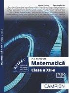 Culegere matematica Clasa XII
