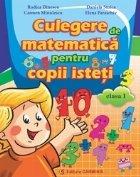 Culegere de matematica pentru copii isteti. Clasa I
